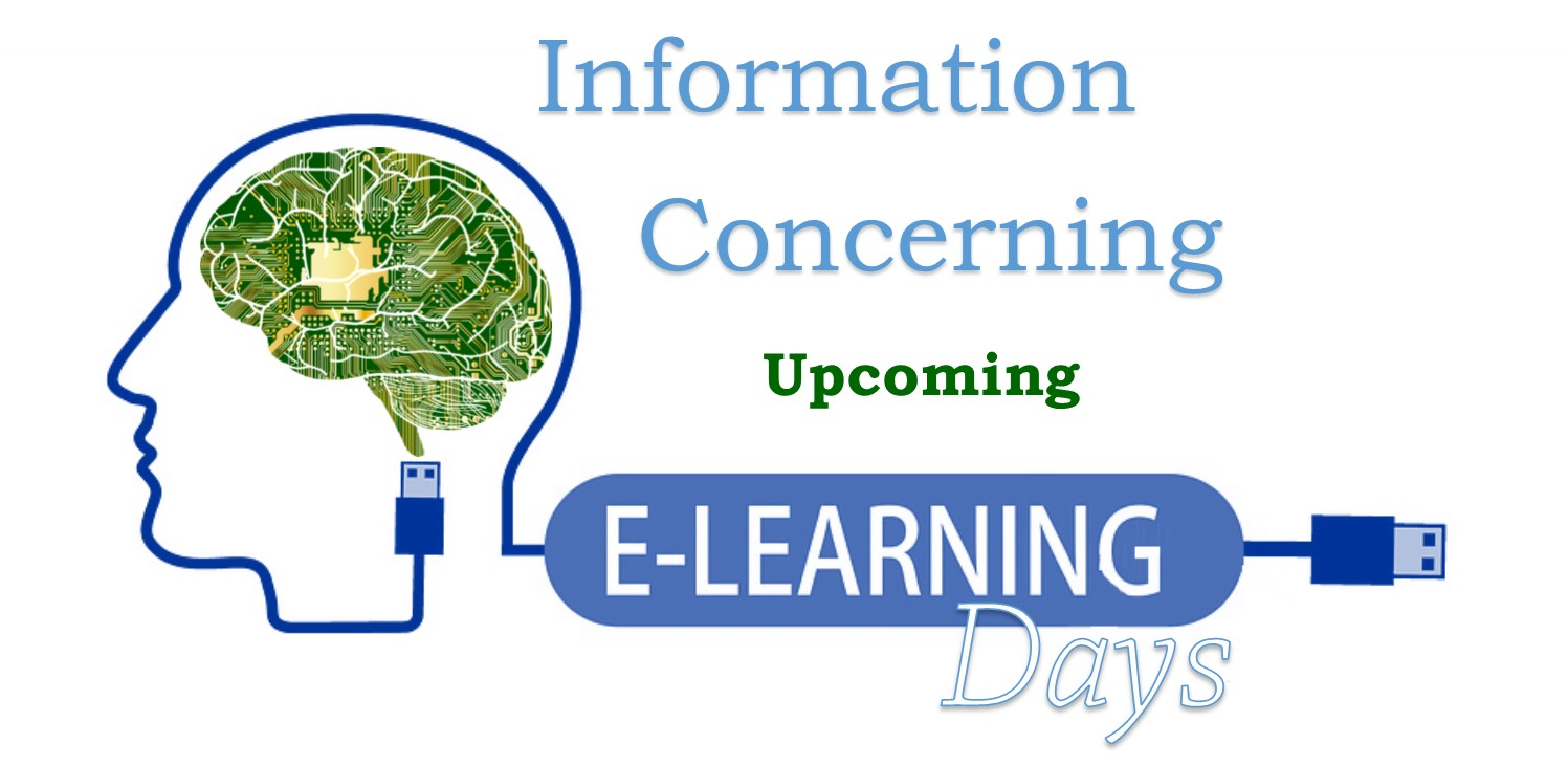 Upcoming- eLearning Days