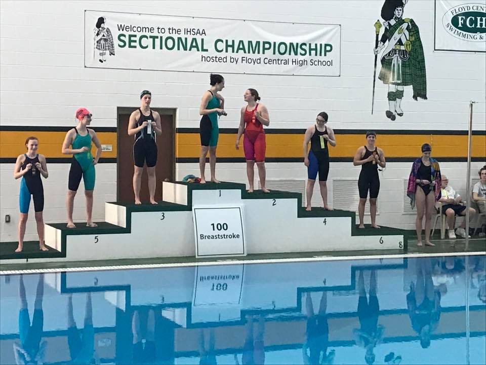Allison Furnish- SC Athlete Makes History at Swimming Sectionals!