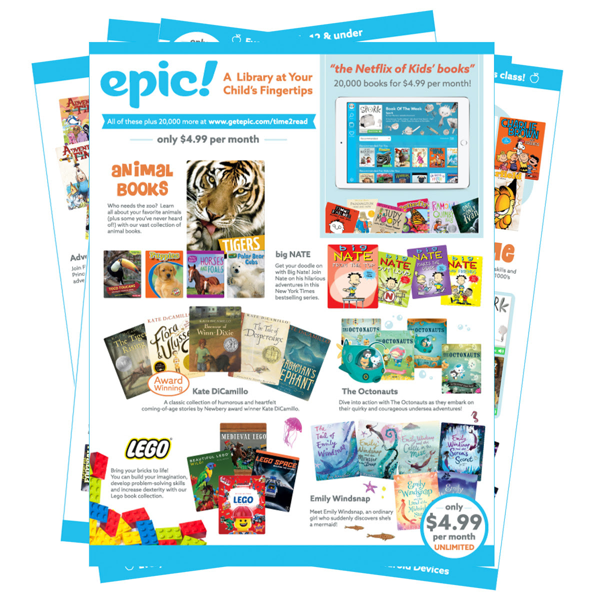 Read on Epic! at home-Try Epic for free for 30 days