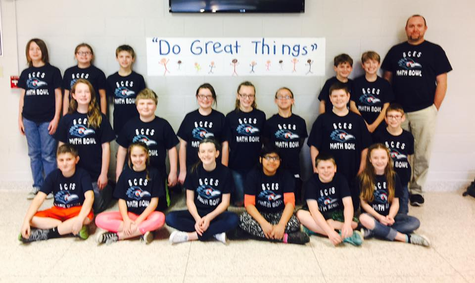 SC Elementary Math Bowl Competition Participants