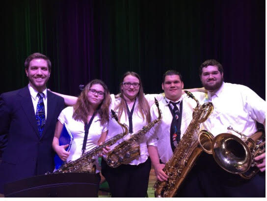Four High School Students Participate in the South East Indiana Honor Band