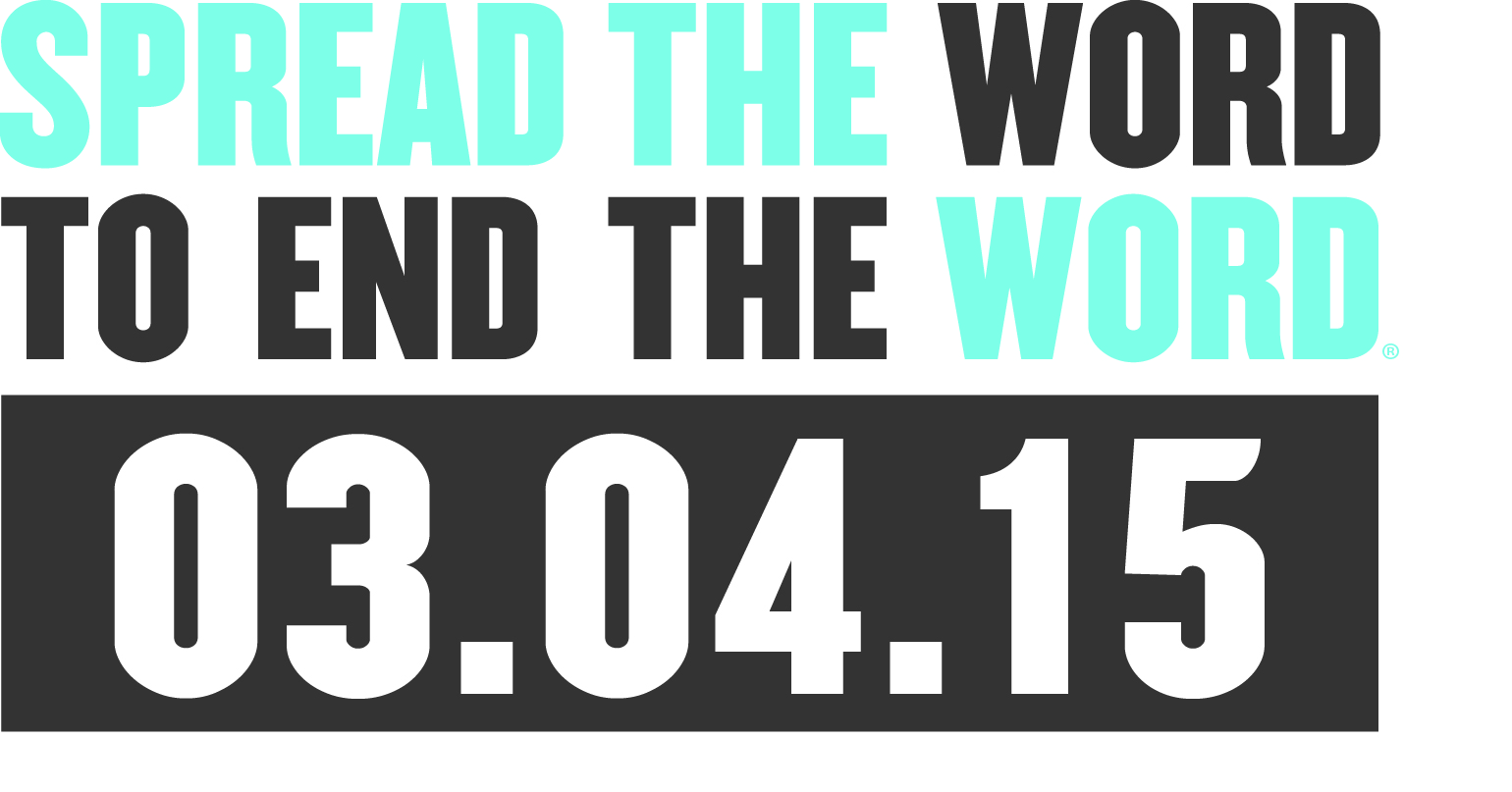 End the r-word banner 3.04.15