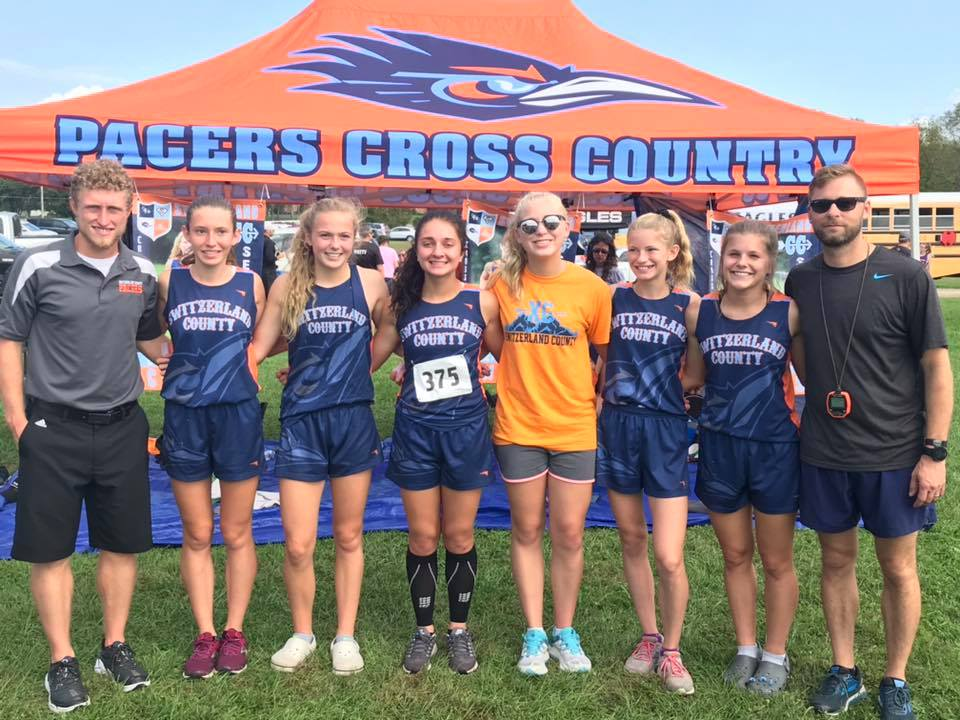 2018 girls xc team