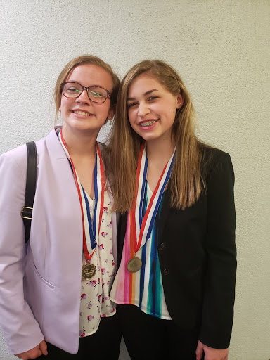 Ava Cole and Maddie Levell- BPA NLC
