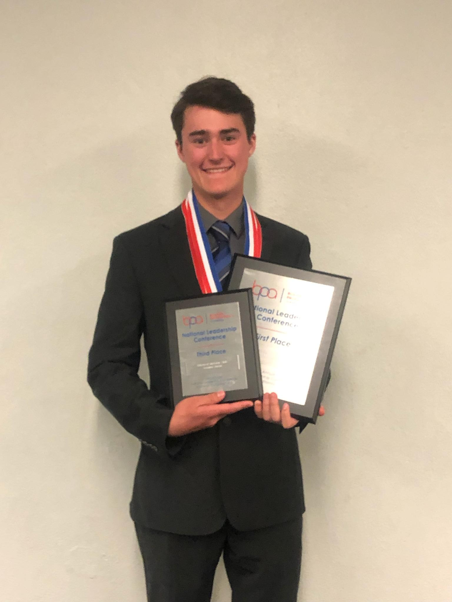 Garrett Demaree- National BPA Champion