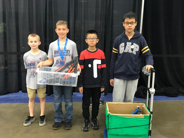Vex IQ Worlds Competition 3