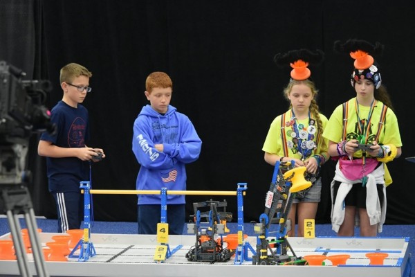 Vex IQ Worlds Competition 5