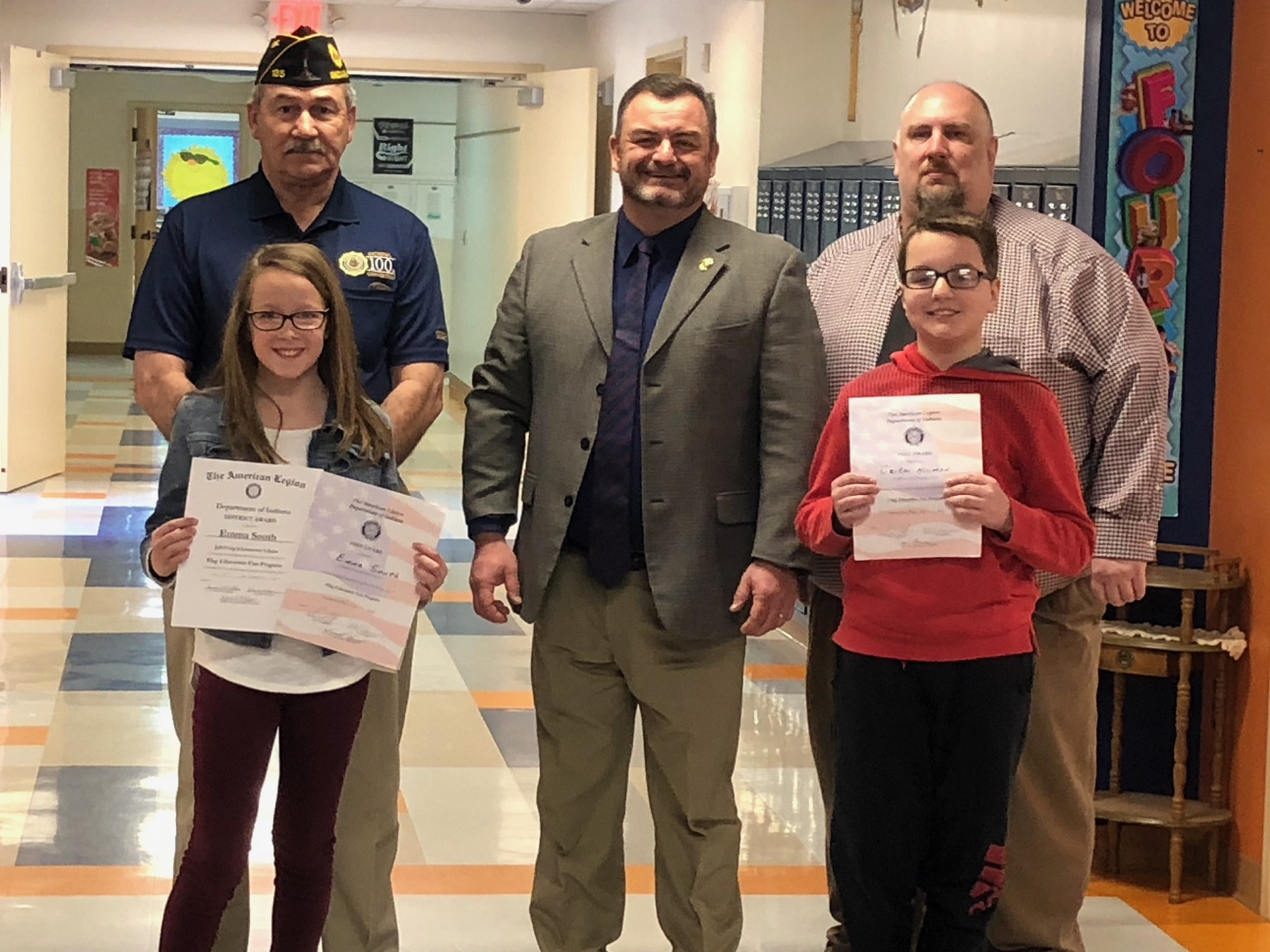 JC 2019 American Legion Essay Award winners