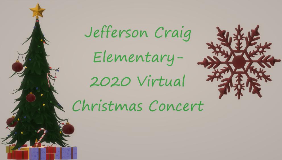 Jeff Craig 2020 Virtual Christmas Concert