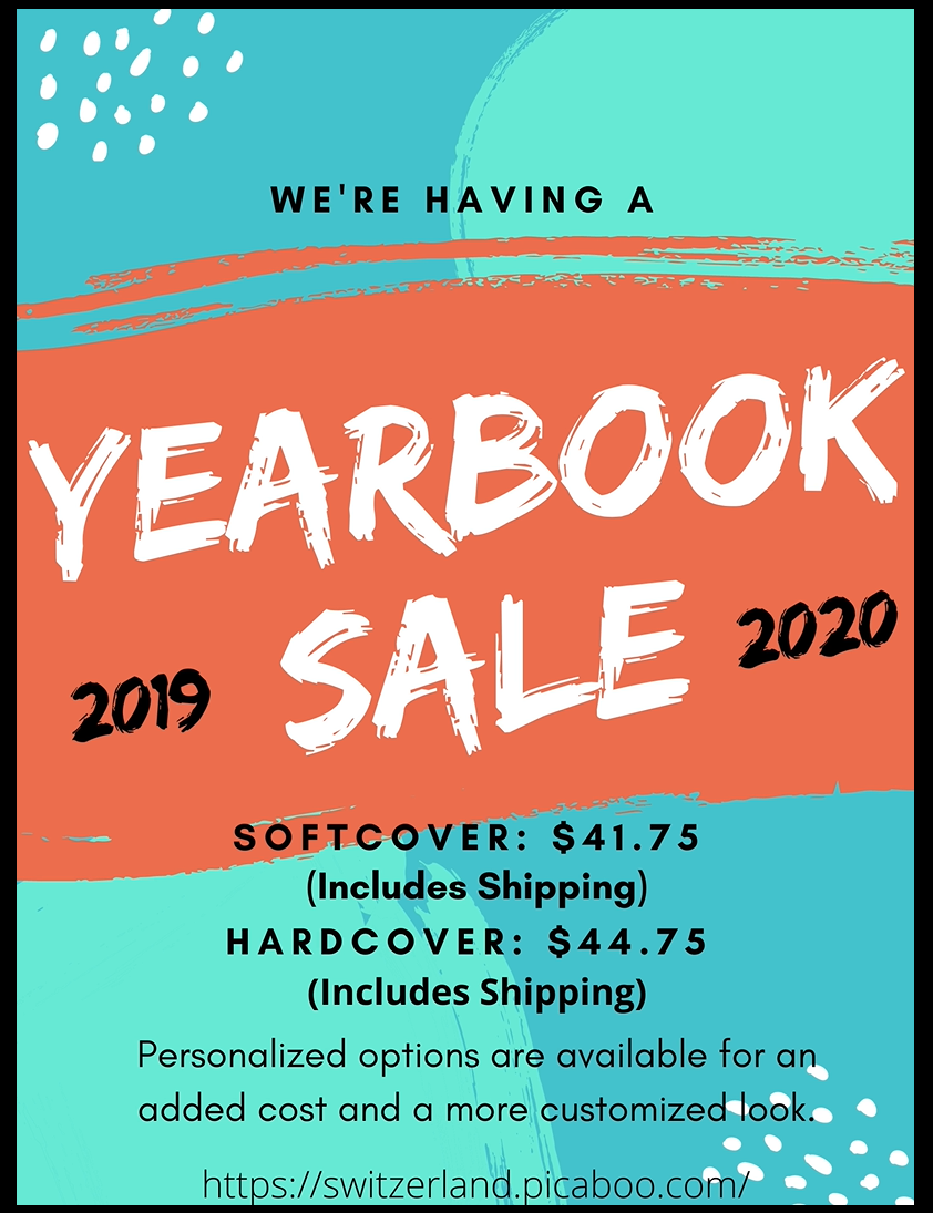 19-20 Yearbooks on Sale