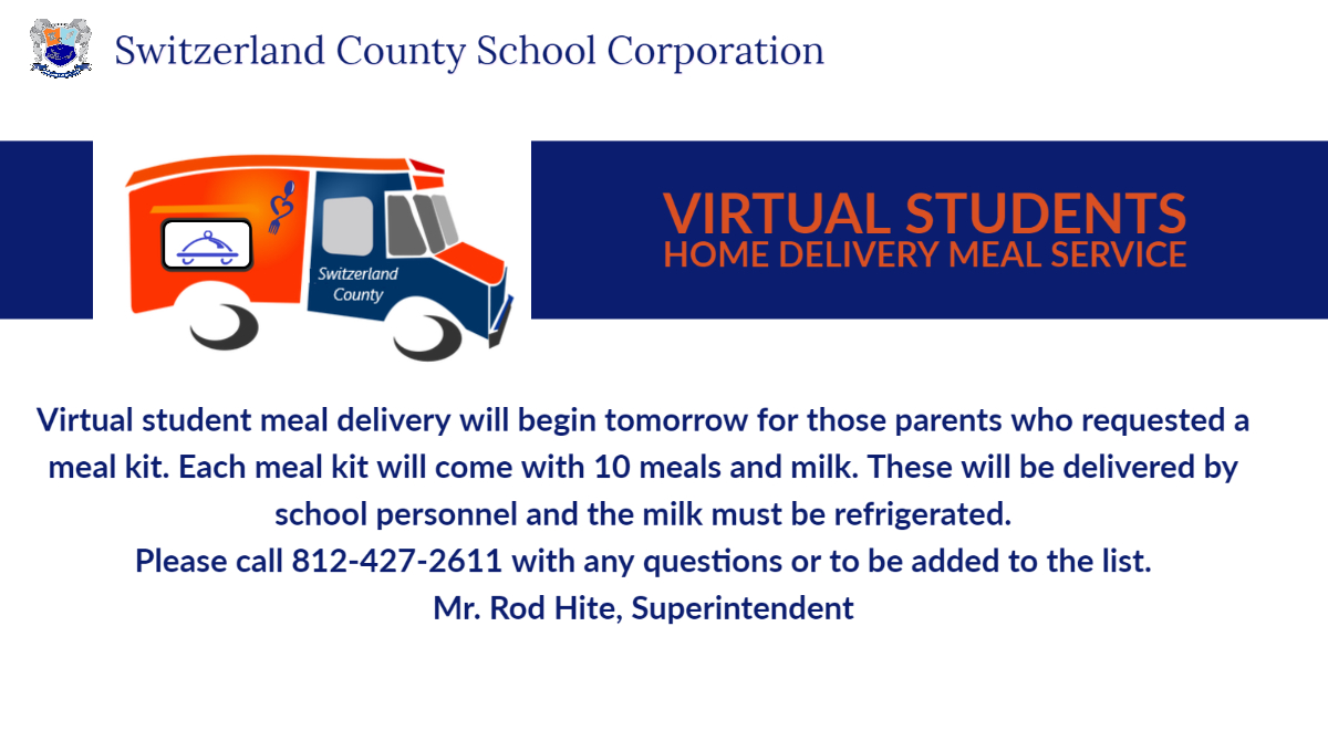 Virtual Students meal delivery