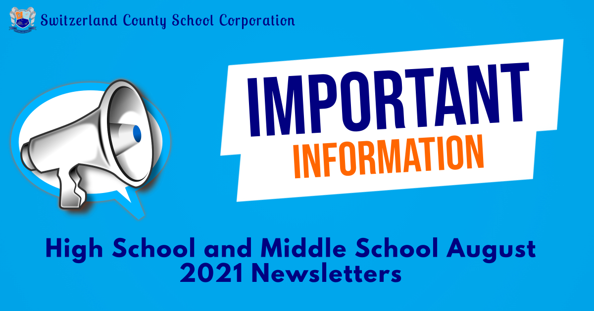 august newsletters 2021