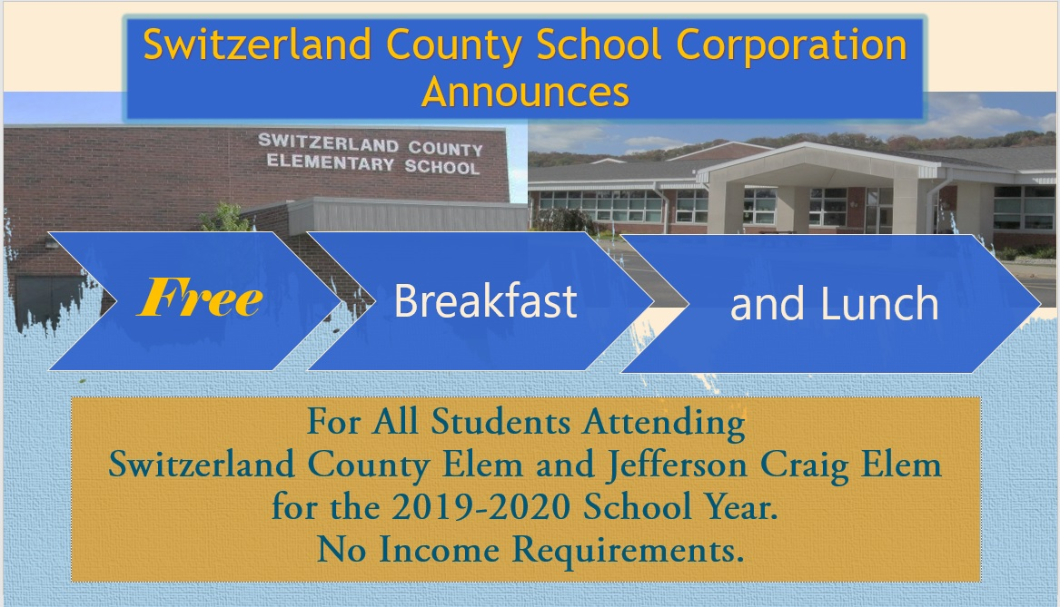 JC and SCES students get free breakfast and lunch 2019-2020