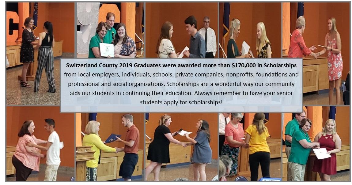 2019 scholarship winners